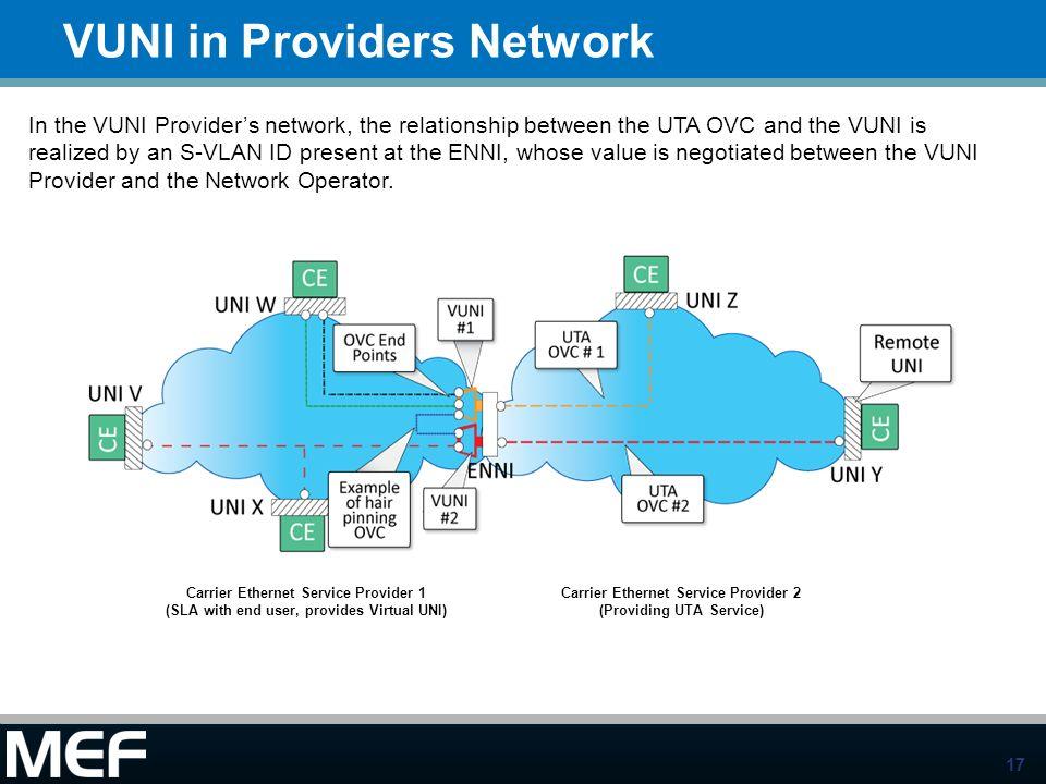 VUNI in Providers Network