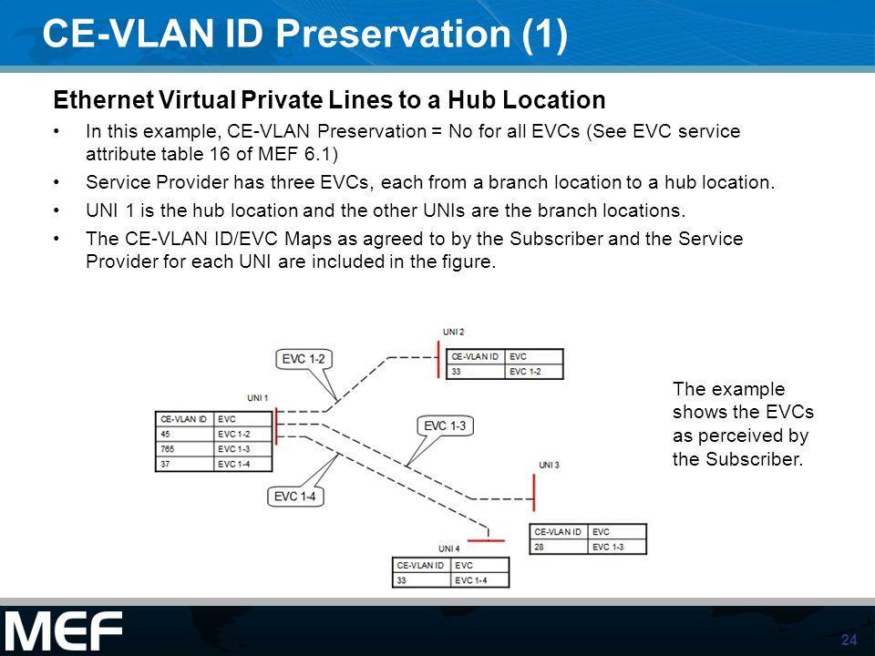 CE-VLAN ID Preservation (1)