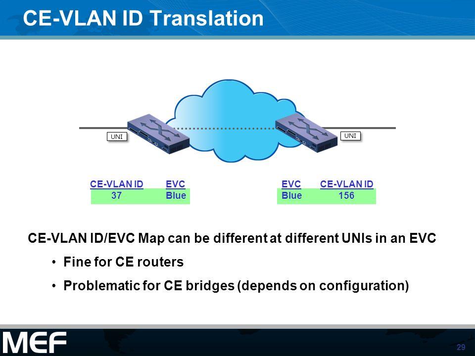 CE-VLAN ID Translation