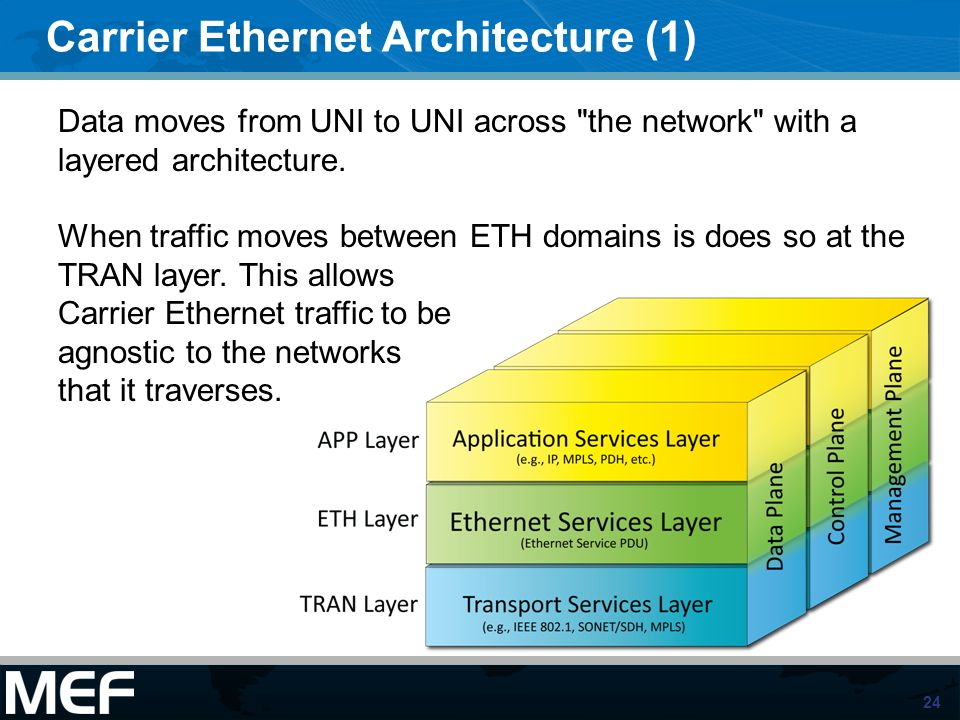 Carrier Ethernet Architecture (1)
