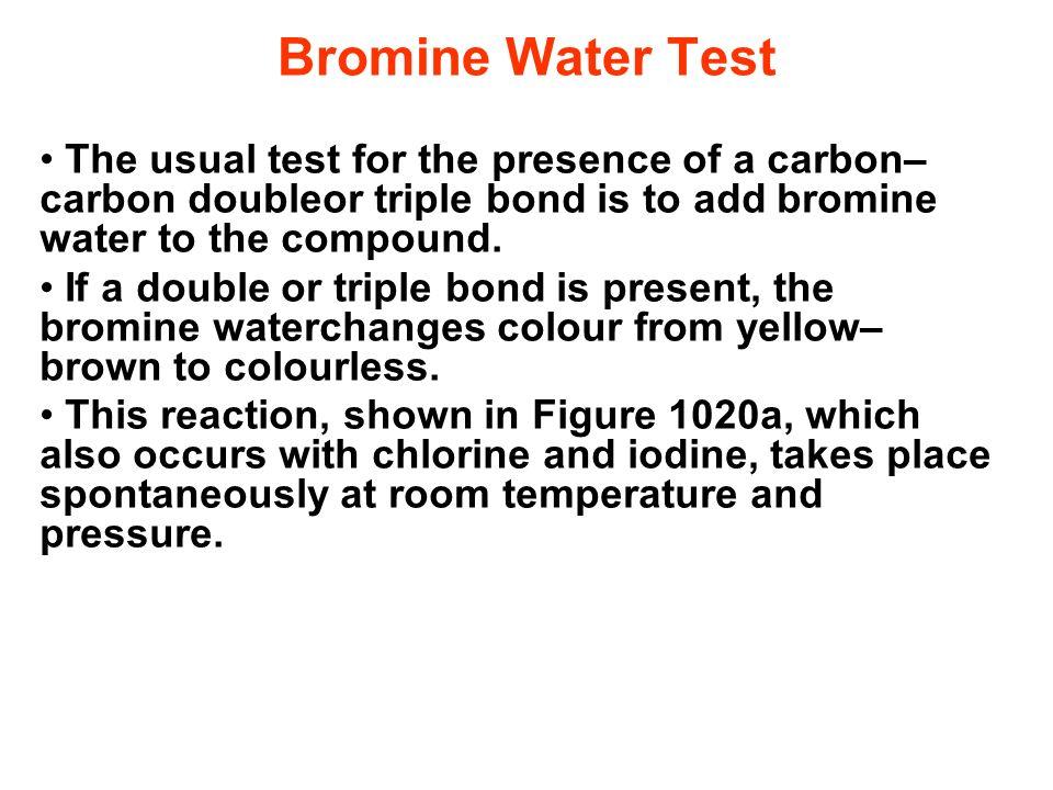 Bromine At Room Temperature Colour