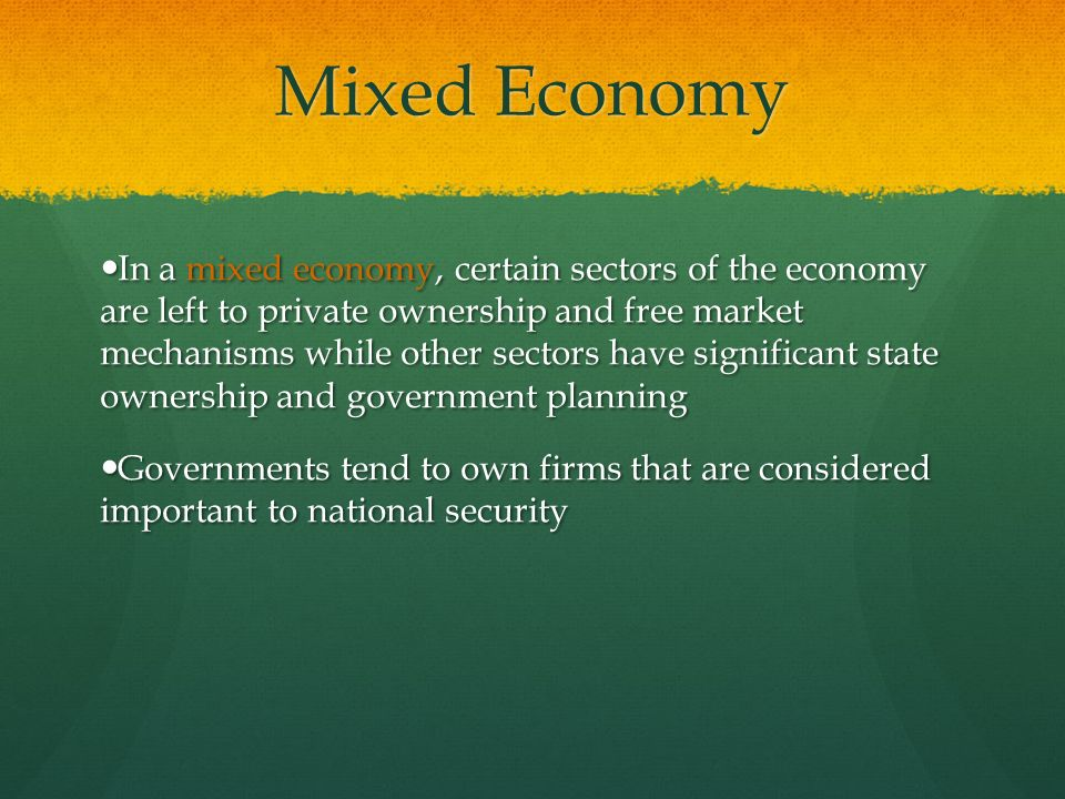 india a mixed economy The united kingdom has a mixed economy based on the capitalist system on free trade and global economic, despite its limits being establishe.