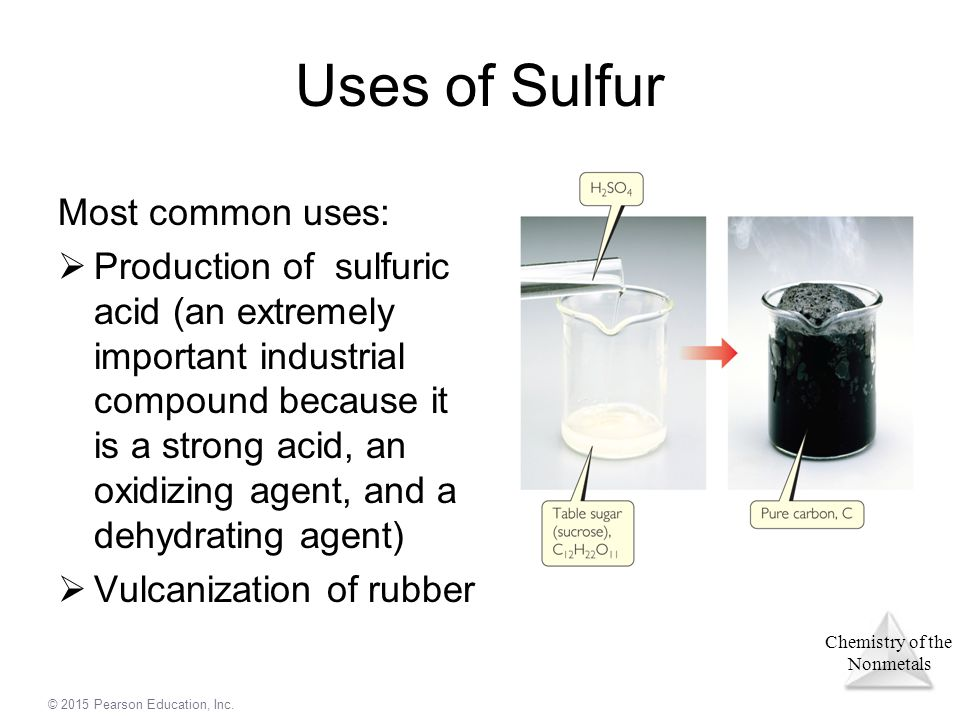 Uses Of Sulfur Chapter 22 Chemistry o...