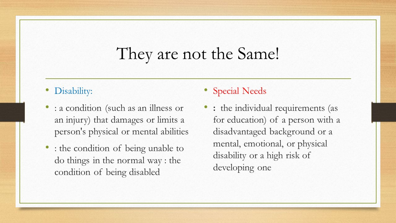 understand physical disability 3 essay Some are obvious -- such as a child with a physical disability who uses  a  disability is a great way to further understand a child's experiences.