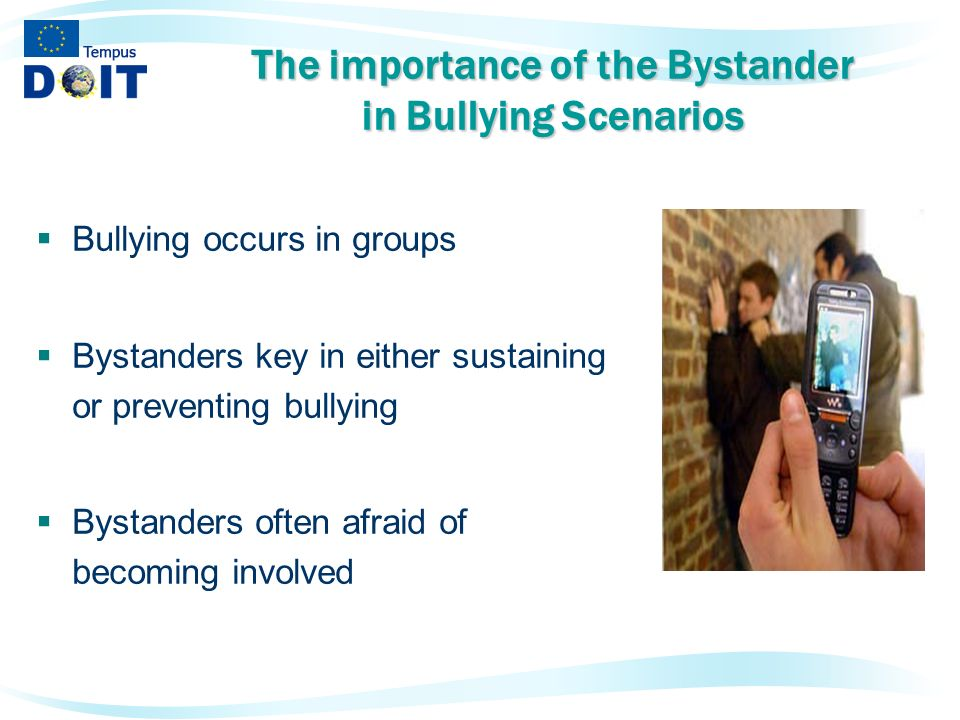 bystander behaviour Chapter 11 groups, identities, and bystander behavior how group processes can be used to promote helping.
