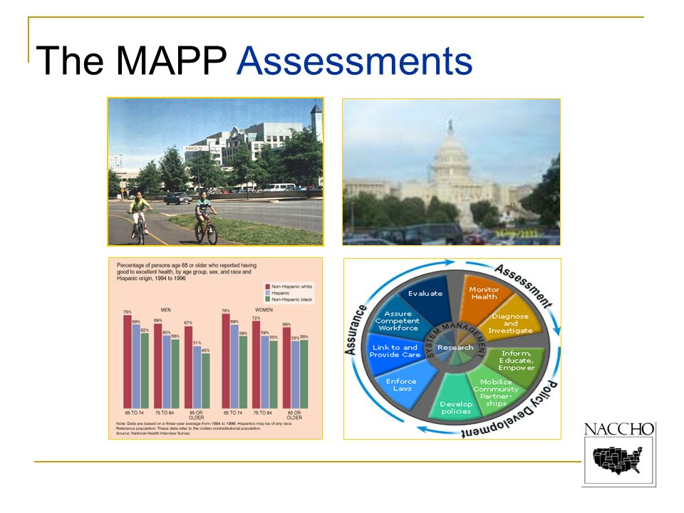 The MAPP Assessments In these assessments, the community identifies: