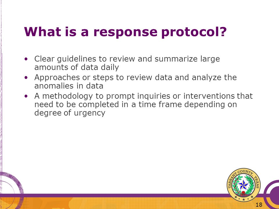 What is a response protocol