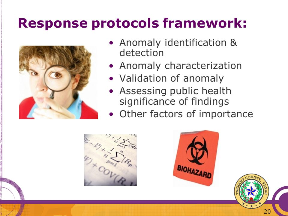 Response protocols framework: