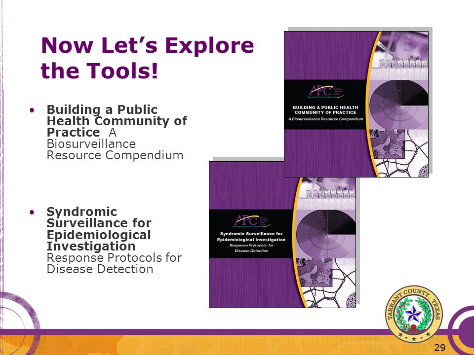 Now Let's Explore the Tools!