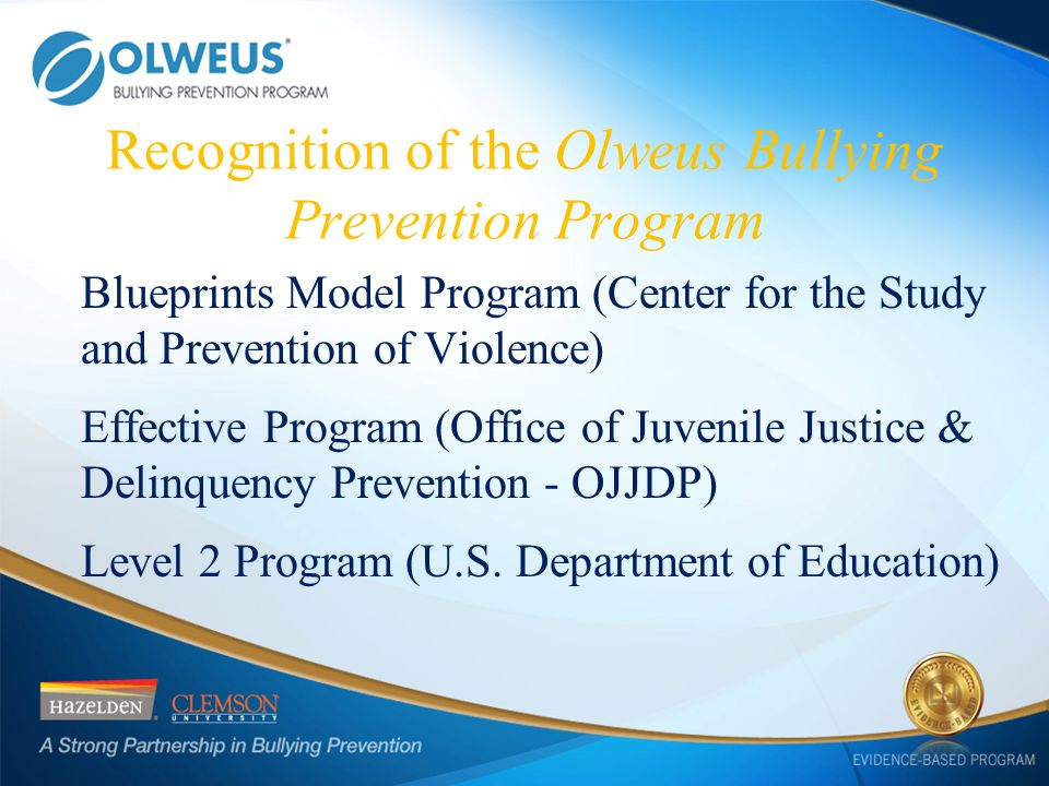 a study of juvenile bullying Trauma among youth in the juvenile justice system a recent study of youth in detention found that over 90 percent of youth had bullying dating violence.