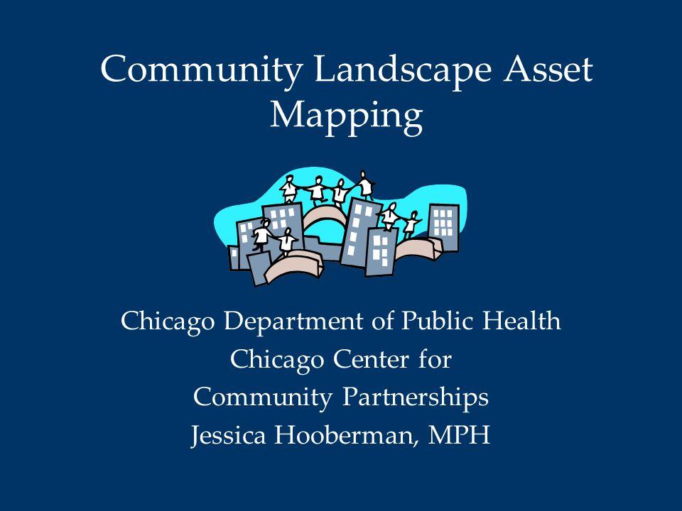 Community Landscape Asset Mapping