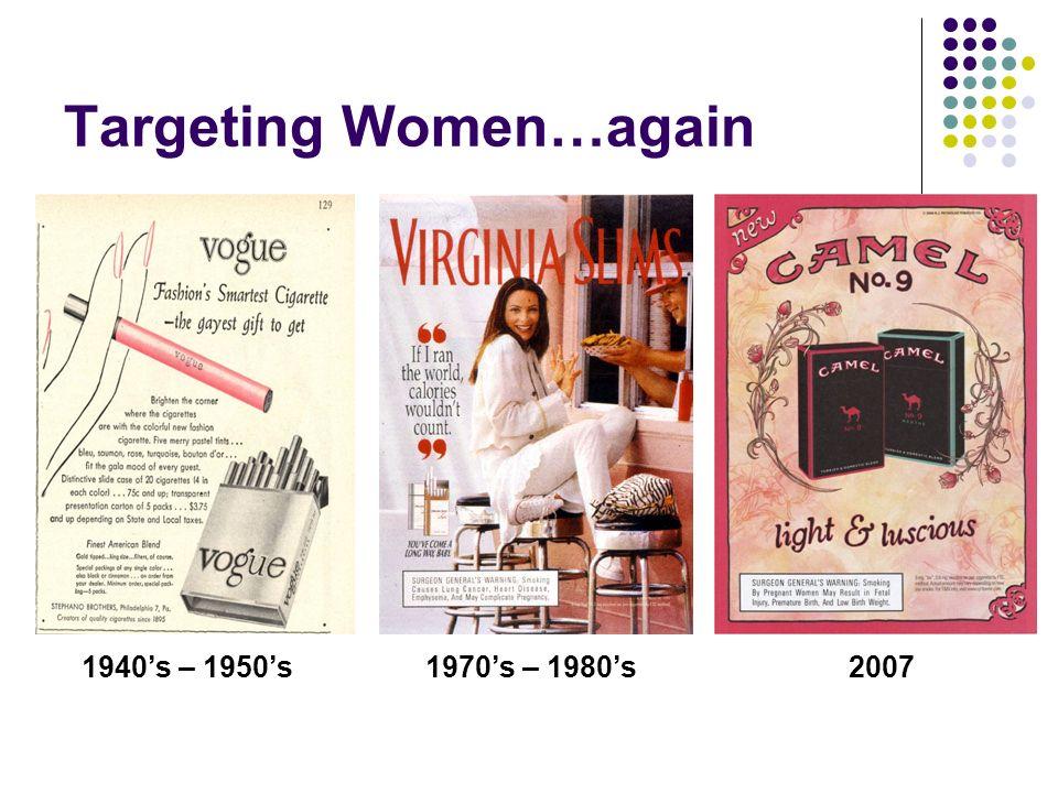 Targeting Women…again