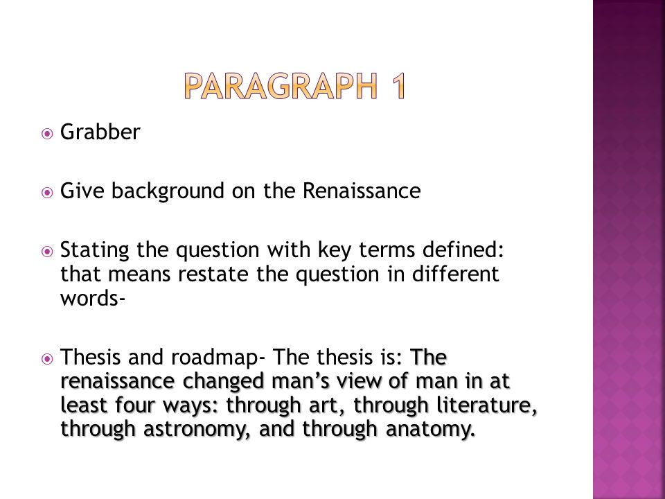how did the renaissance change man's The renaissance had a profound effect on our self-image during this time period, we were put in the center of attention (this has not always been so, mind you) because of this, more and more things started revolving aoround the human and his activities.