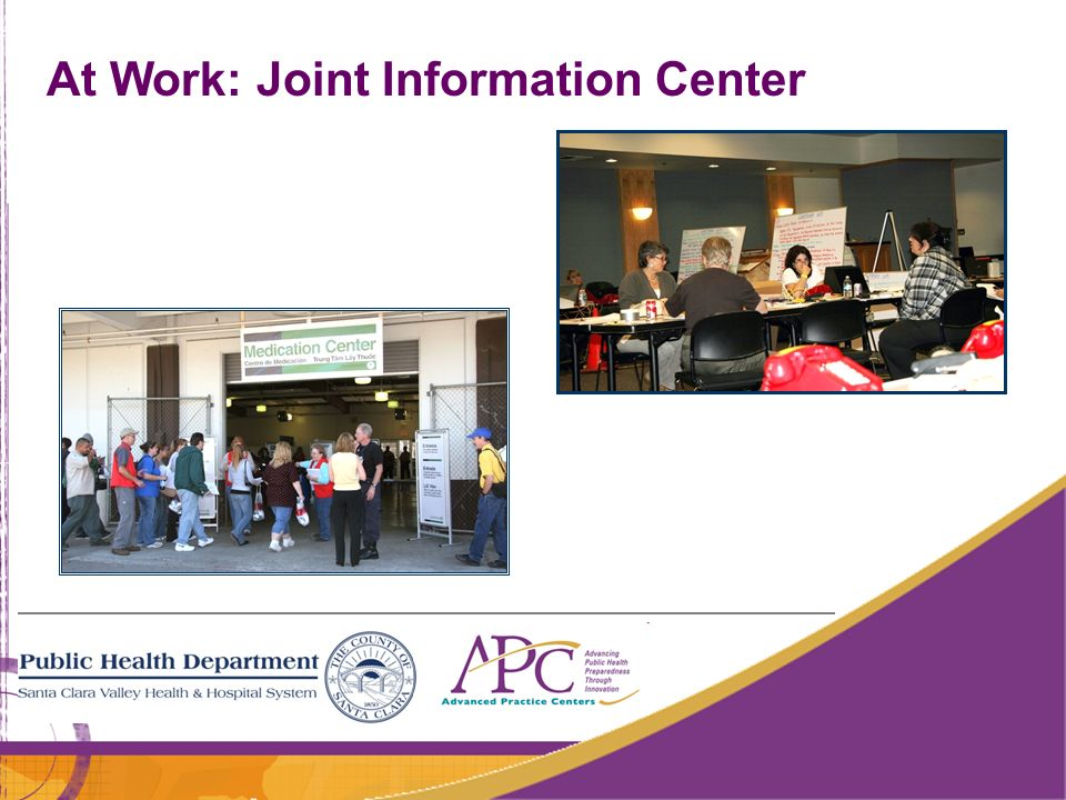 At Work: Joint Information Center