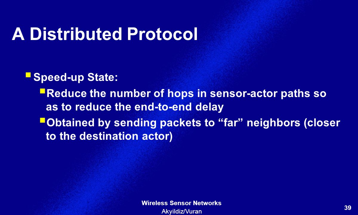 A Distributed Protocol