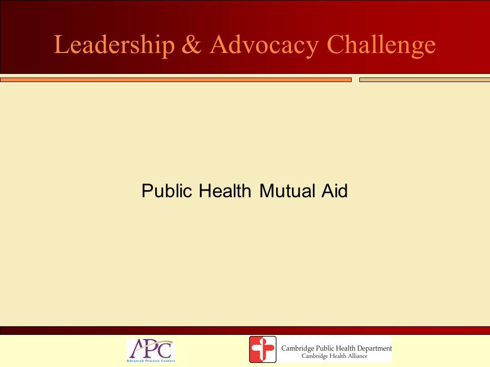 Leadership & Advocacy Challenge