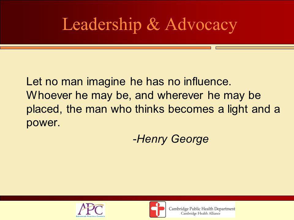 Leadership & Advocacy