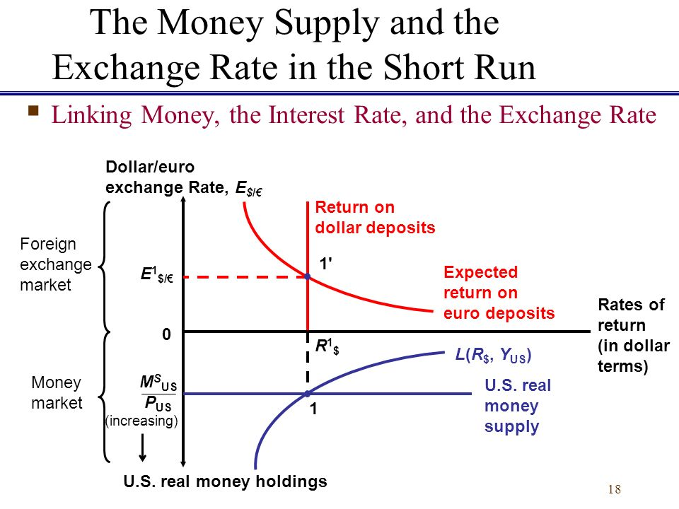 The Effect of Supply & Demand on the Rate of Exchange