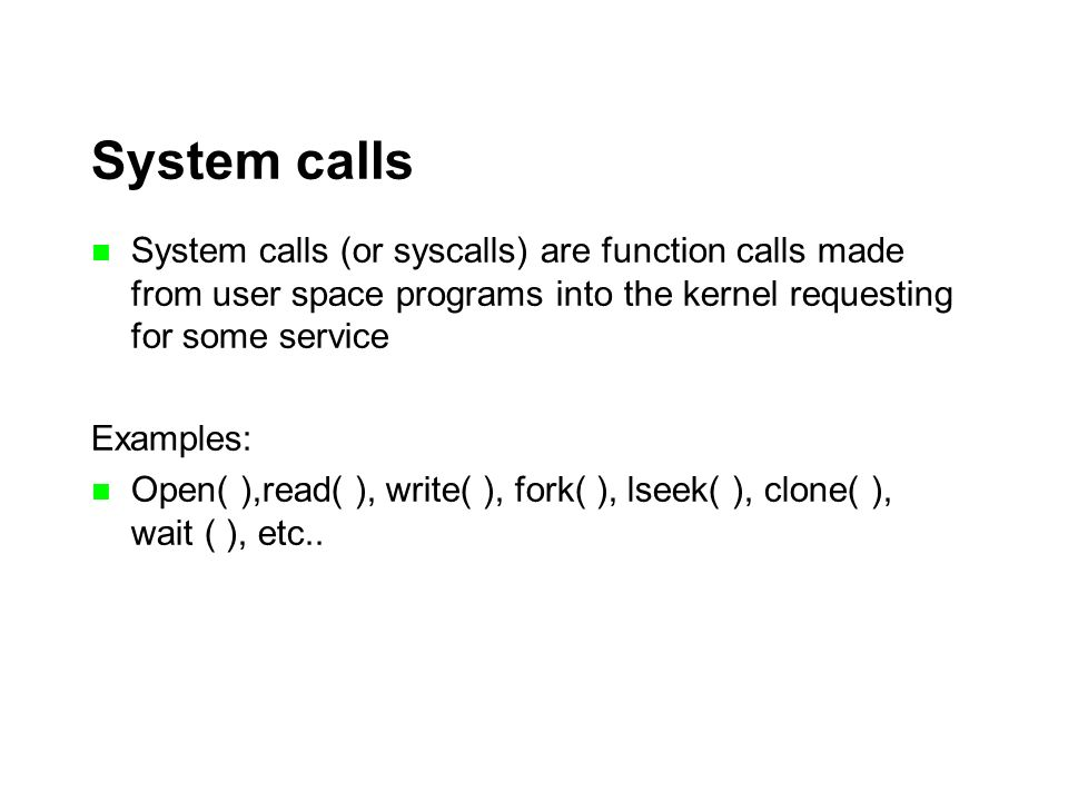 write() system call in unistd.h
