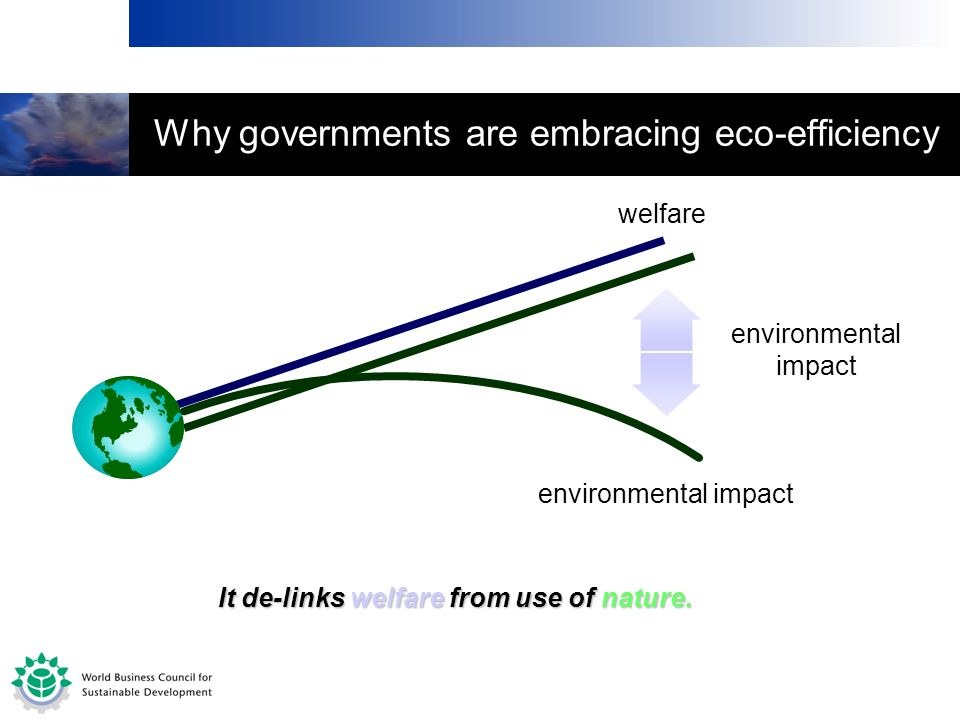 Why governments are embracing eco-efficiency