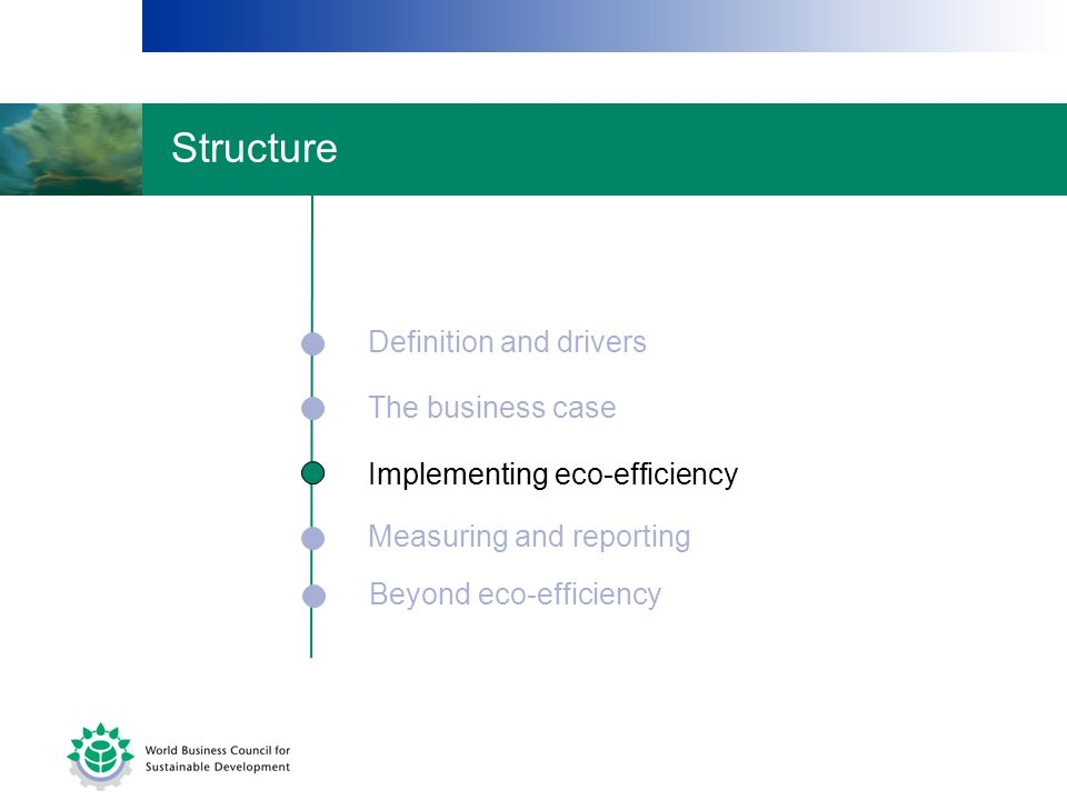 Structure Definition and drivers The business case