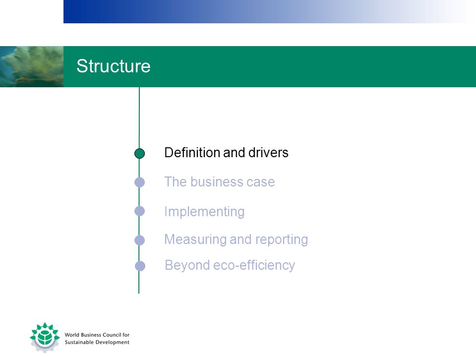 Structure Definition and drivers Definition and drivers