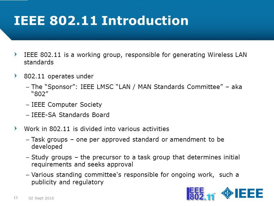 ieee standards in computer networks pdf