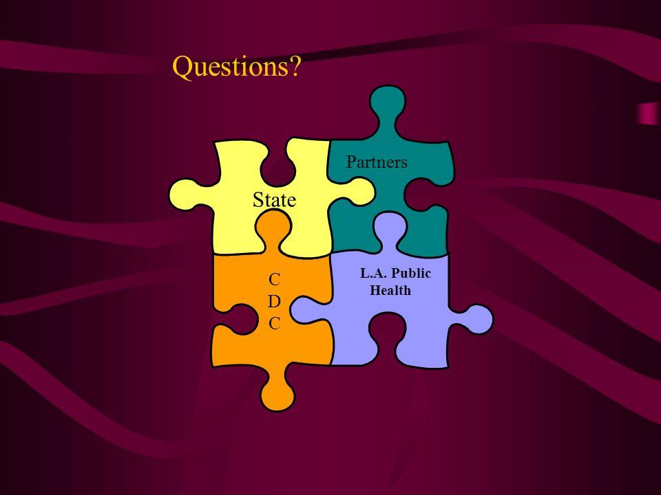 Questions Partners State L.A. Public Health C D
