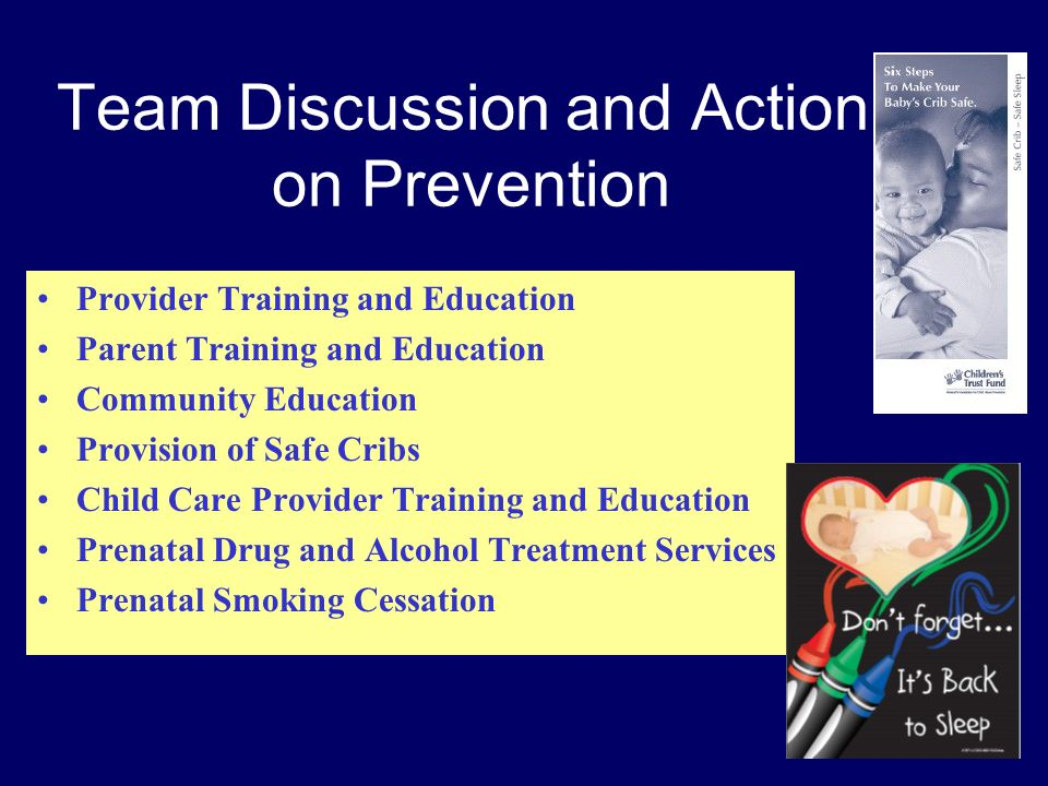 Team Discussion and Action on Prevention