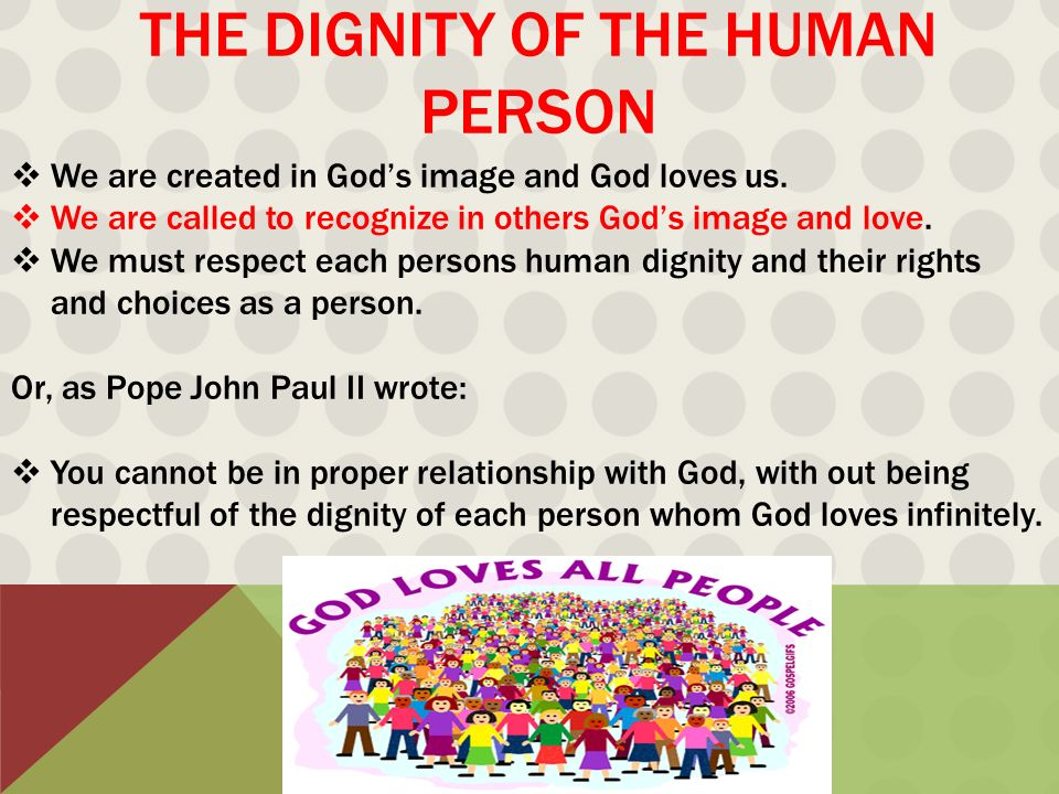 human persons relationship with god
