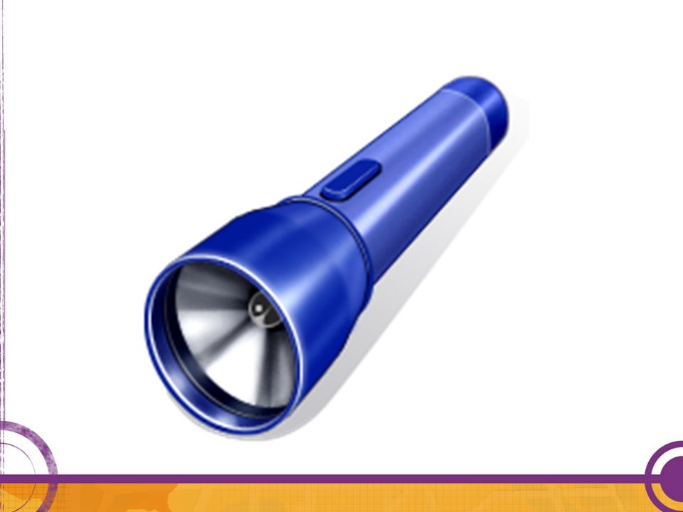 Essential-a battery operated flashlight