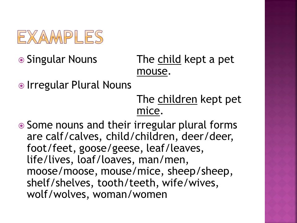 Unit 2 Week 3—Irregular Plural nouns - ppt video online download