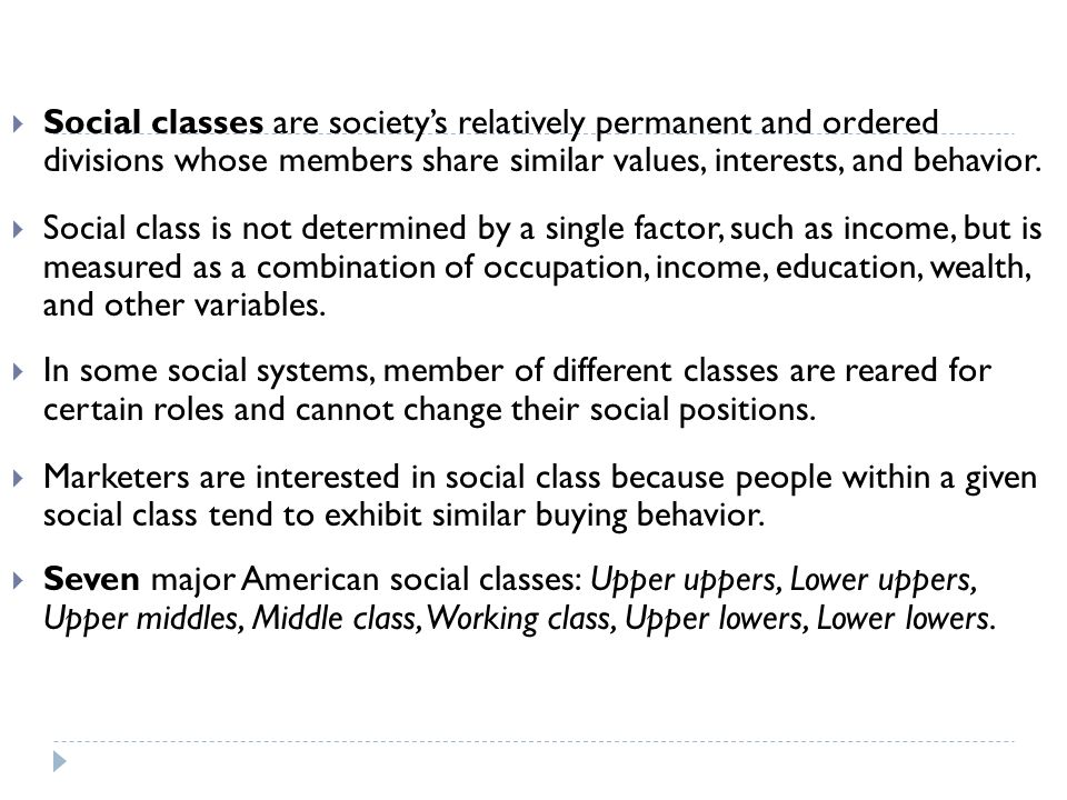 a comparison of the working and upper class in society The dignity of working men: morality and the boundaries of  the dignity of working men:  french and the american upper-middle class (morality and society.