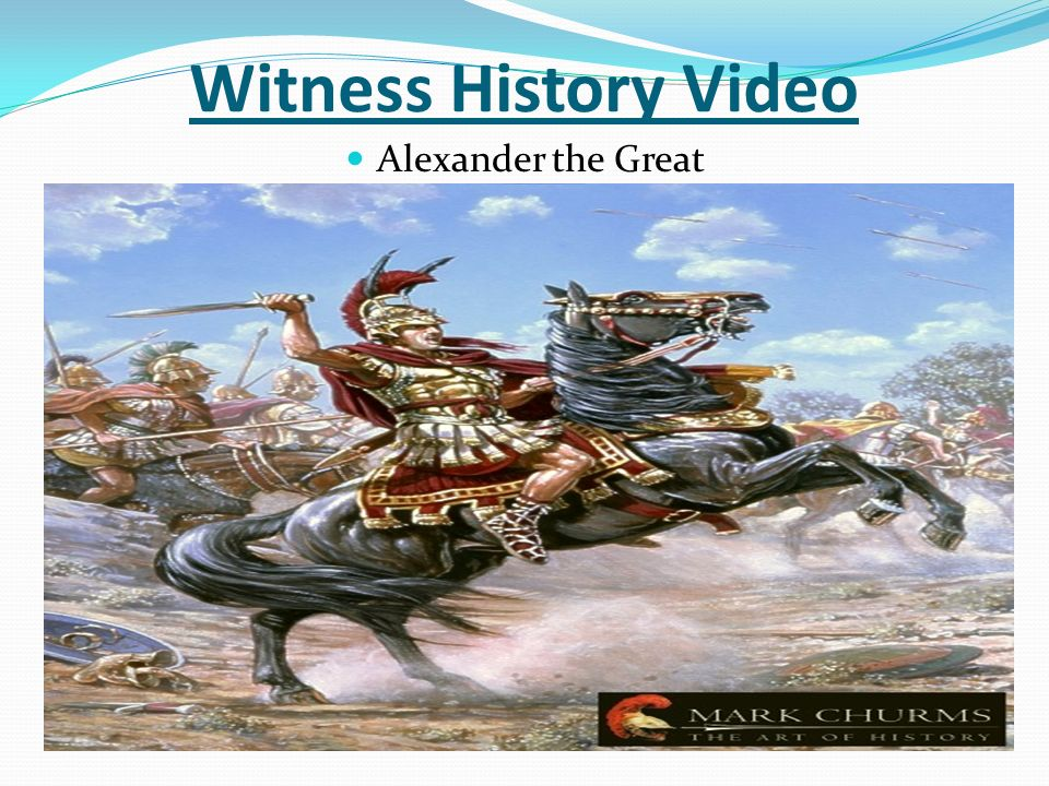 alexander the great 20 There is a great possibility that you are familiar with at least some facts about alexander the great after all, his mark on history is quite substantial alexander the great is responsible for the birth of a whole historical period, widely known as the hellenistic age.