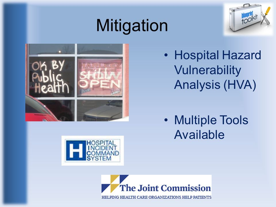 Mitigation Hospital Hazard Vulnerability Analysis (HVA)
