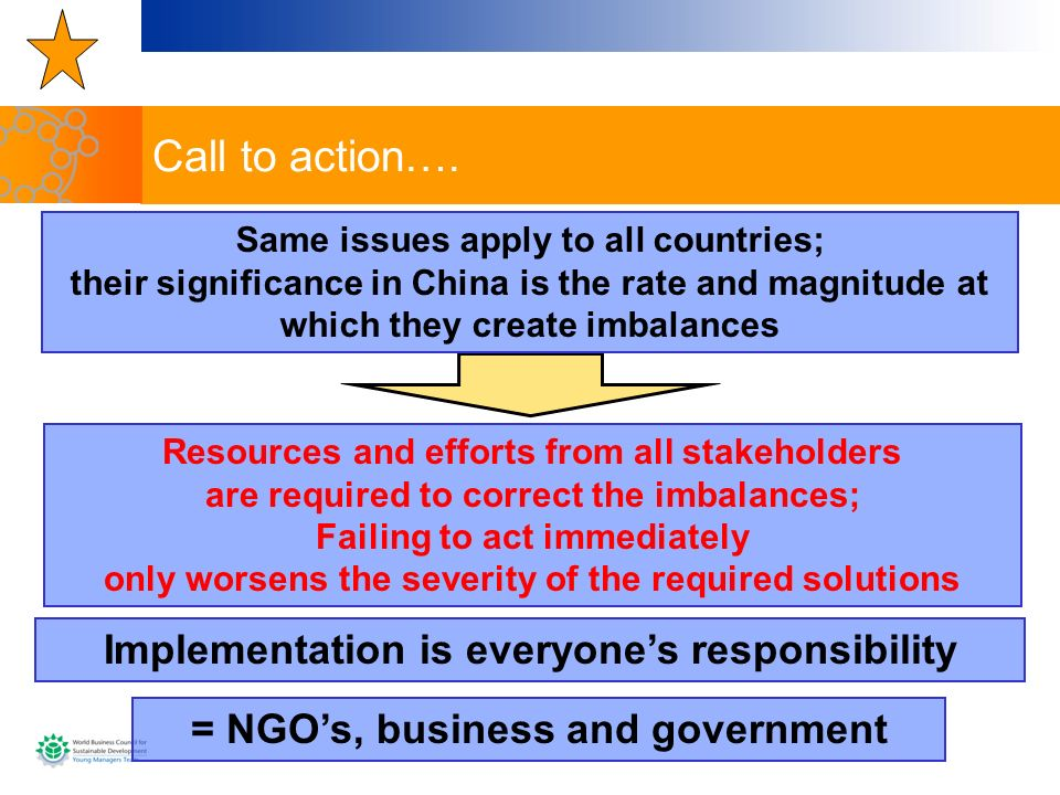 Call to action…. Implementation is everyone's responsibility