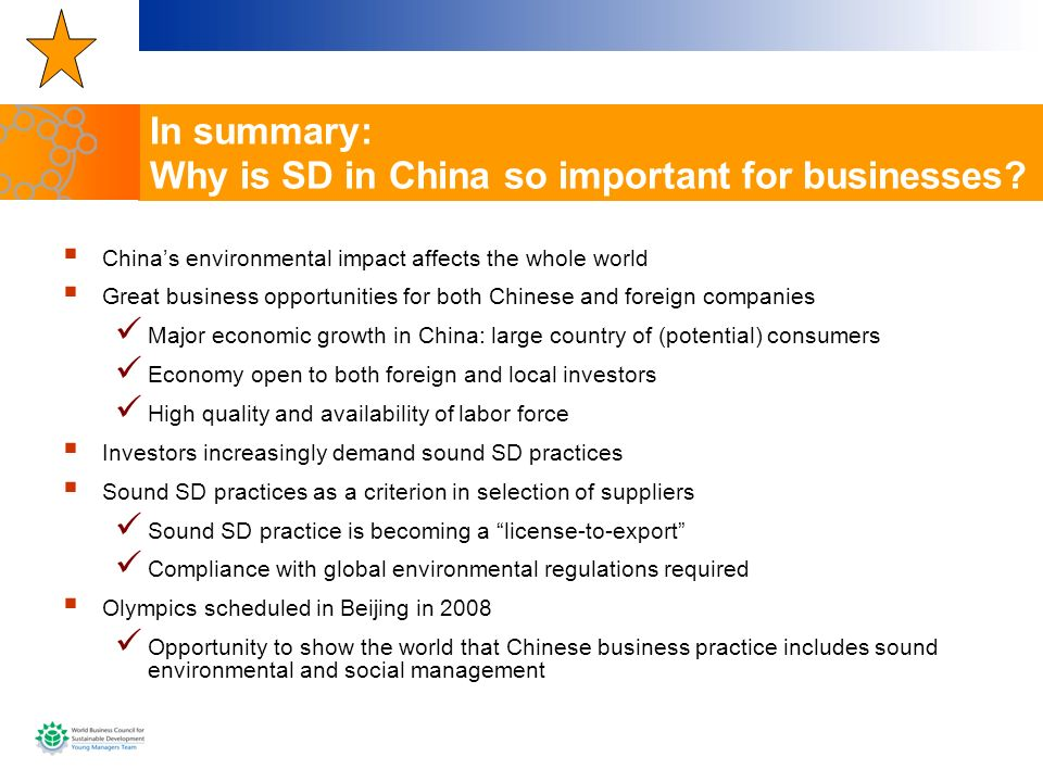 In summary: Why is SD in China so important for businesses