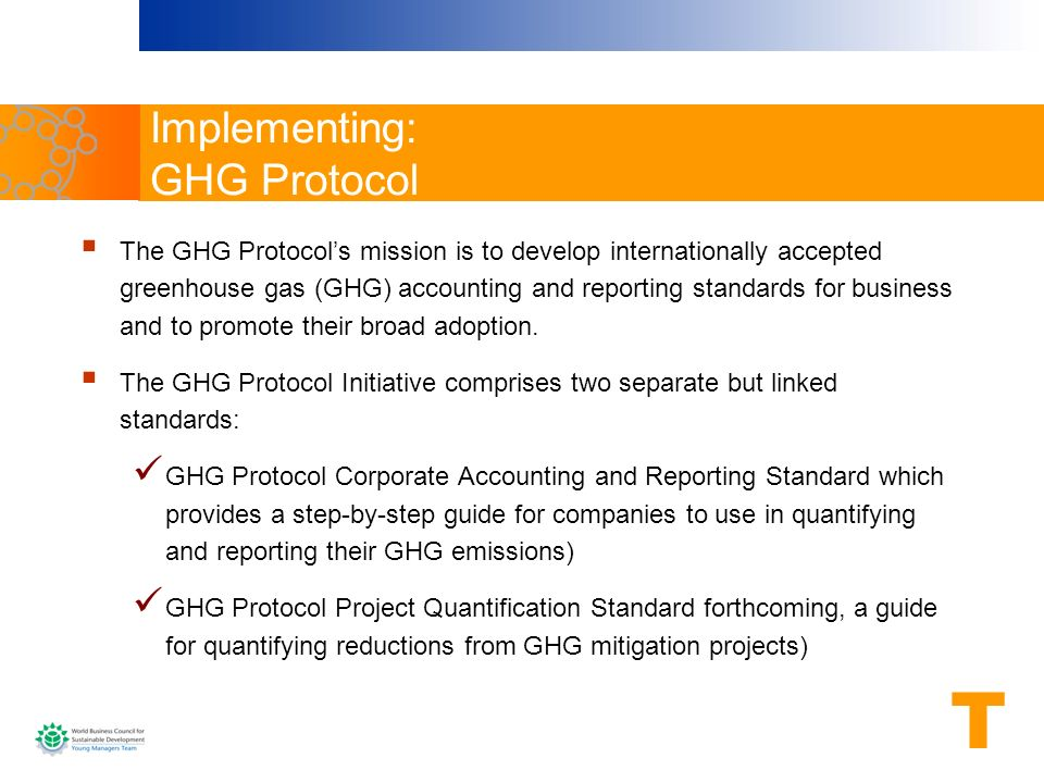Implementing: GHG Protocol