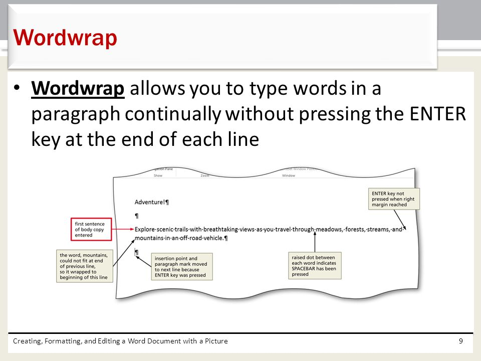how to show paragraph marks in word mac
