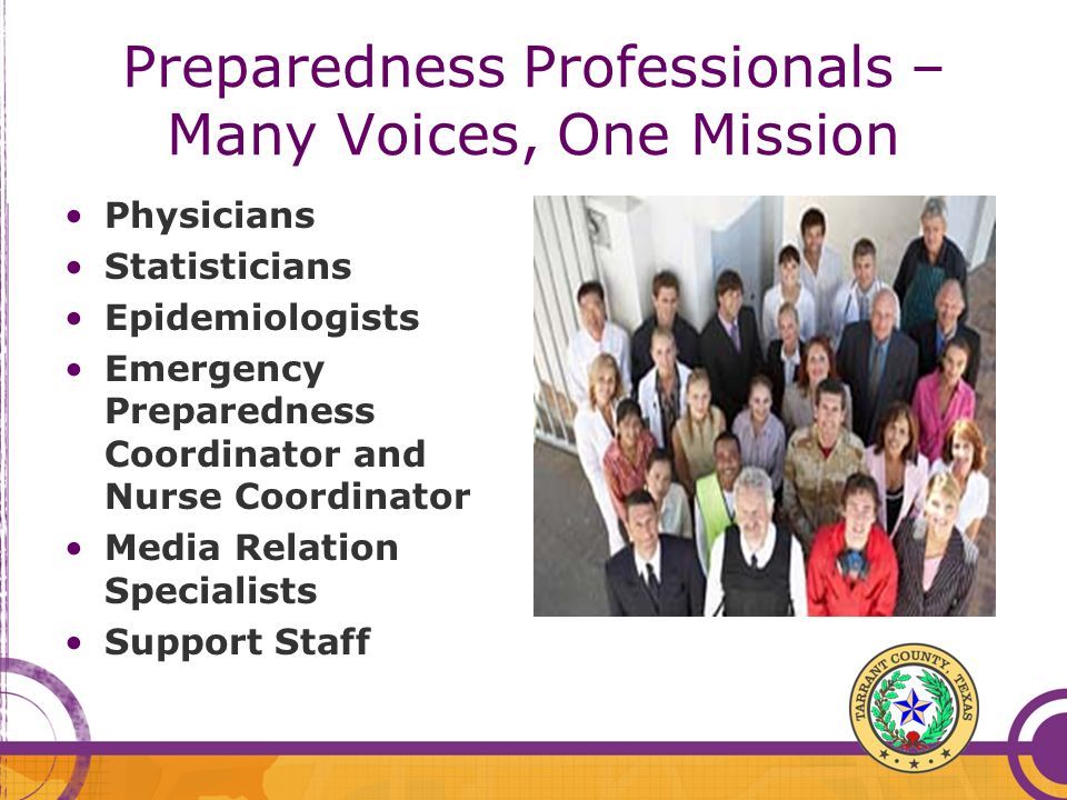 Preparedness Professionals – Many Voices, One Mission