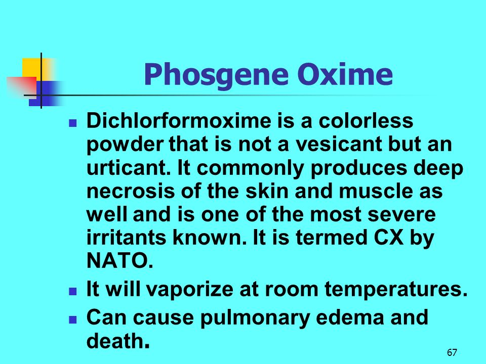 Phosgene Oxime