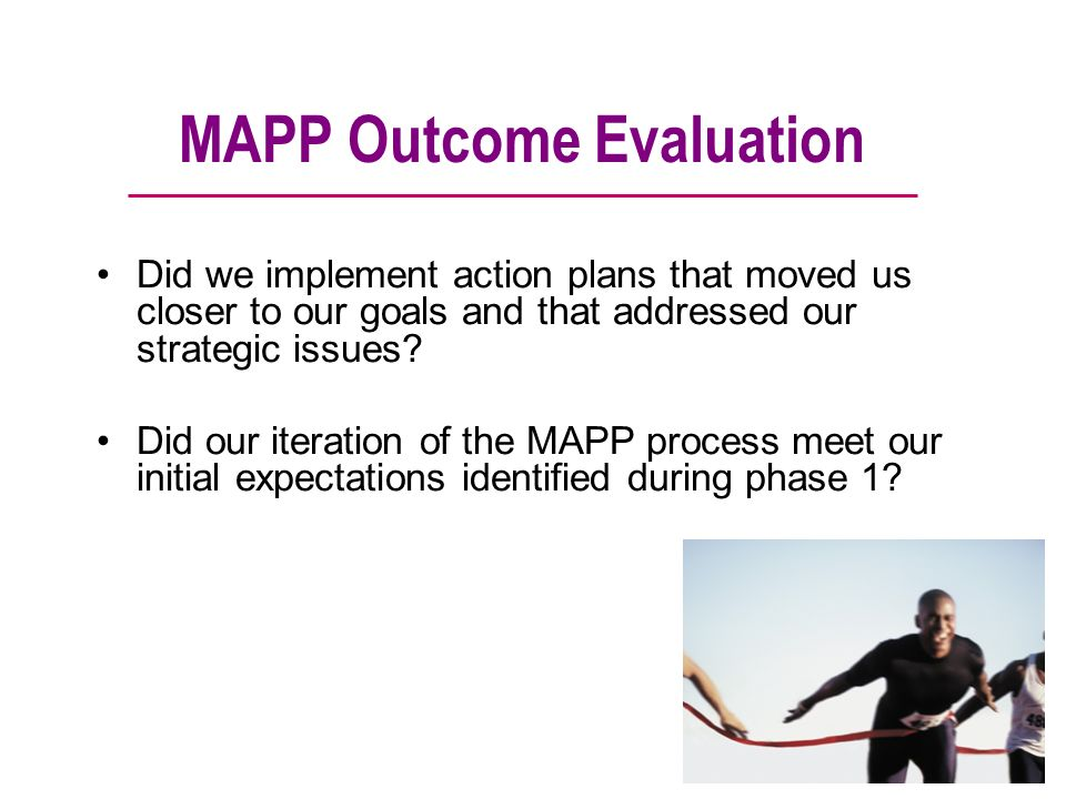MAPP Outcome Evaluation