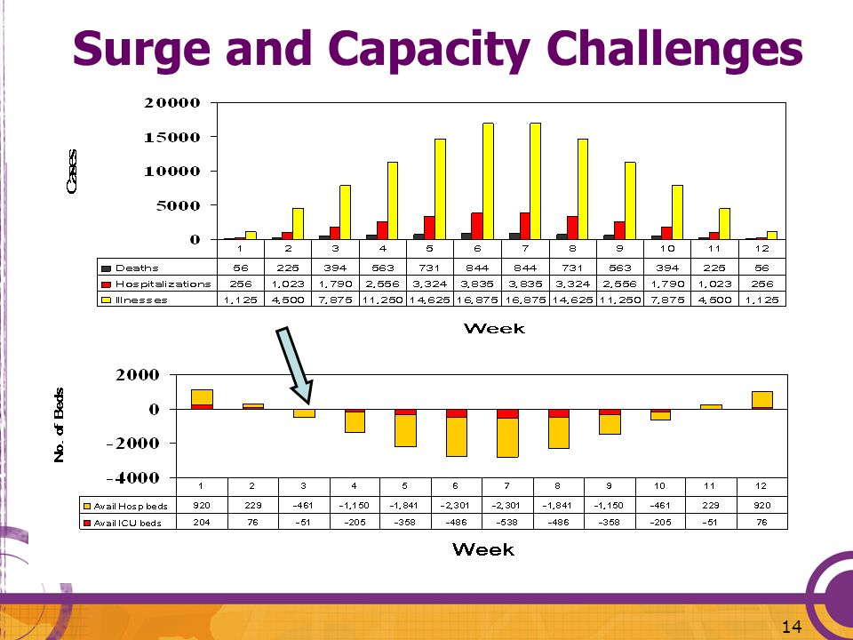 Surge and Capacity Challenges