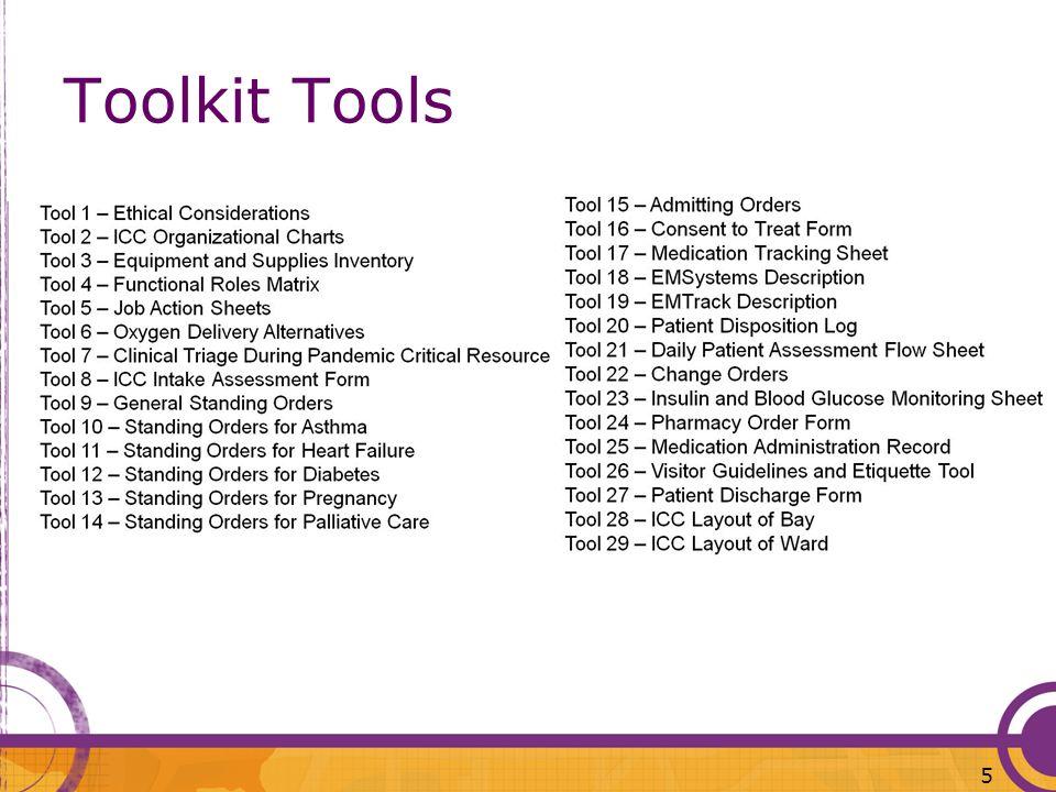 Toolkit Tools