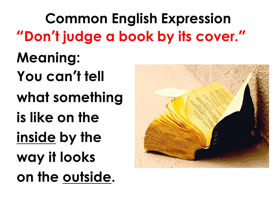 you can t judge a book by its cover essay Debate whether or not you can judge a book by its cover voice your opinion and learn more about each side of the debate.
