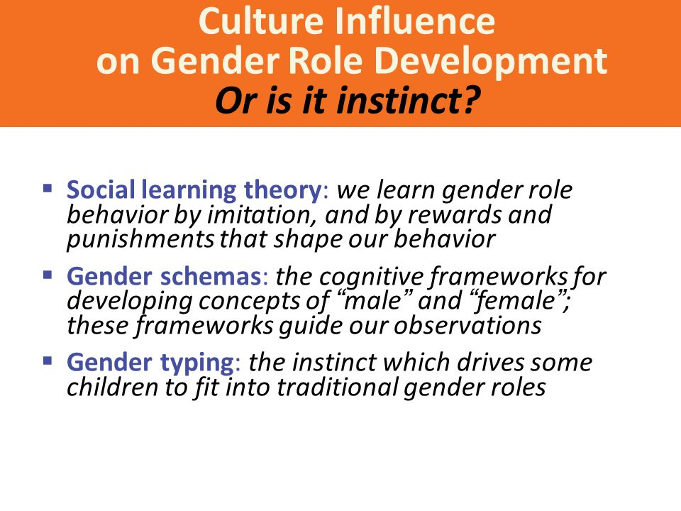 culture and society's impact on gender The impact of gender diversity on tasks that required social wwwncwitorg what is the impact of gender diversity on technology business performance.
