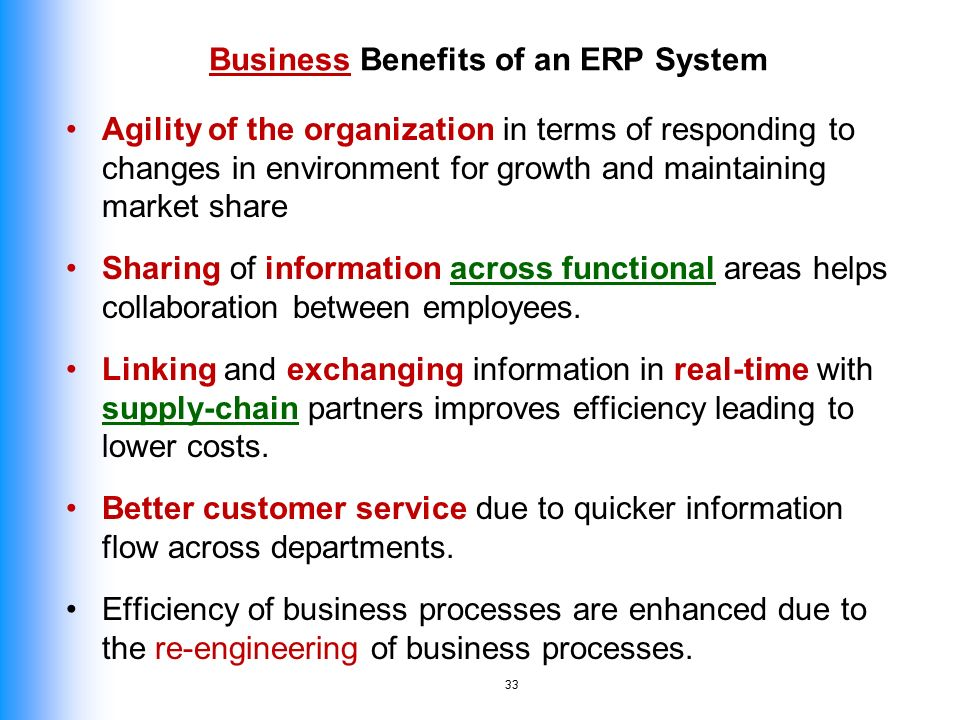the benefits of enterprise systems Find and compare benefits administration software  plexis healthcare systems is a leading technology company that delivers trusted enterprise benefits.