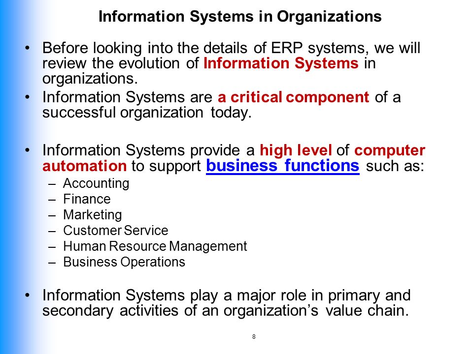 Itma 412 Management Enterprise Systems Ppt Video Online