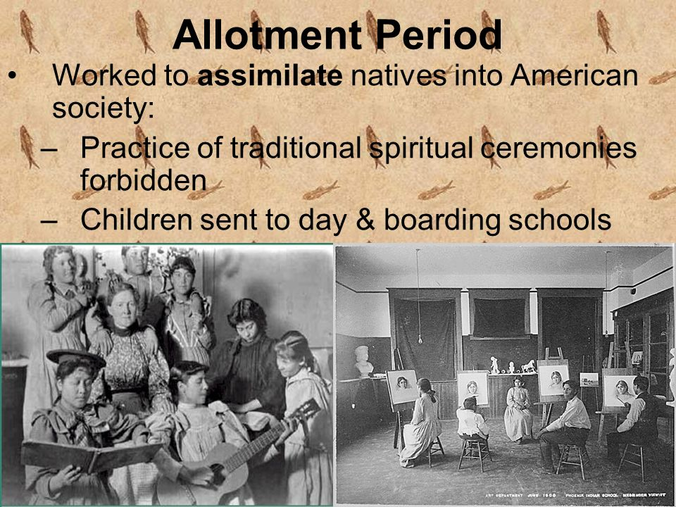 Native Americans: Assimilation Through Education