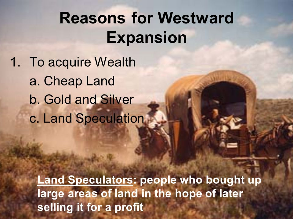 Western expansion and the american indian experience ppt for Where to buy cheap land for homesteading